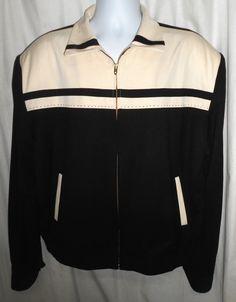 "Killer 1950's Two Tone Rockabilly Gabardine Jacket XL/52"""
