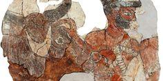 Las excavaciones de André Parrot en la ciudad siria de Mari sacaron a la luz un gran palacio con frescos y estatuas, y un archivo con 25.000 tablillas
