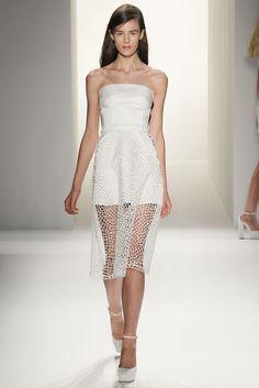 Calvin Klein Collection Spring 2013 Ready-to-Wear Fashion Show - Kayley Chabot