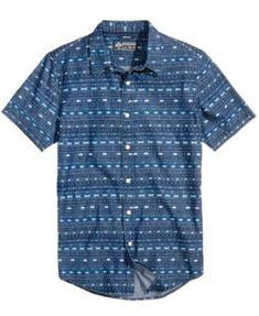 d700392d50 American Rag Men s Geometric Stripe Shirt