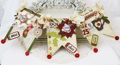 Simple Stories handmade and homespun holiday banners