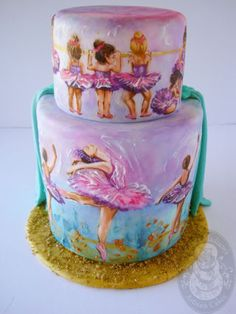 Ballet Cake ~ wow! what an awesome cake!