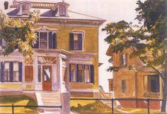 Hopper - Davis House, 1926