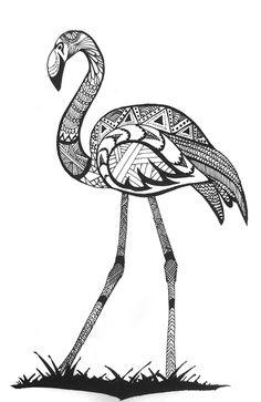 Flamingo #sharpie