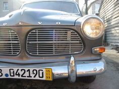 1966 Volvo 122 powder blue - My most favorite car ever!