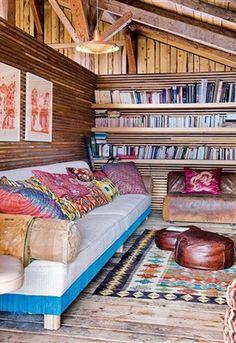 Binnenkijken: Een bohemien chalet - Residence