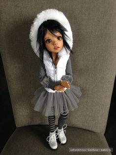 Белое. Черное. Серое. Kaye Wiggs / Куклы Кайе Виггз, Kaye Wiggs dolls / Бэйбики. Куклы фото. Одежда для кукол