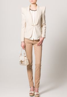 ONLY - NYNNE - Slim fit jeans - Beige