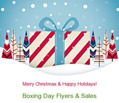 Boxing Day (and Boxing Week) Canada Flyers