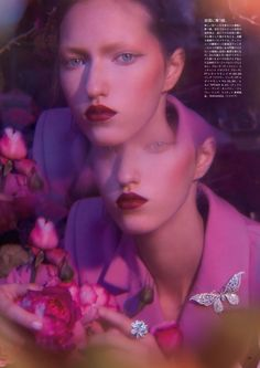 Vogue Japan is a Kaleidoscopic Fantasy Photographer – Greg Lotus (PARIS: ARTSPHERE, Los Angeles: OPUS) | Stylist – Ekaterina Melnikova | Hair – Laurent Philippon (Tim Howard Management) | Makeup – Carole Lasnier