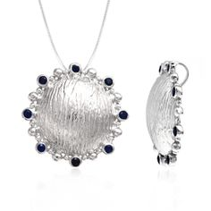 Your daughter is getting her degree today? Why not surprise her with this marvelous blue sapphire pendant and make this day even more memorable? Let her be the star of the day today! Get a stunning blue sapphire sterling silver pendant for her graduation day and make the event memorable for her.