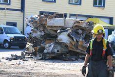 Explosion à Lac-Mégantic: photos de la Sûreté du Québec