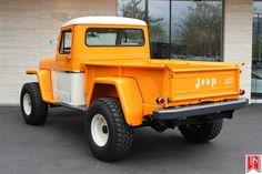1962 Willys Jeep Pickup Maintenance/restoration of old/vintage vehicles: the… Jeep Willys, Willys Wagon, Cj Jeep, Auto Jeep, Jeep Cars, New Trucks, Cool Trucks, Small Trucks, Jeep Ika
