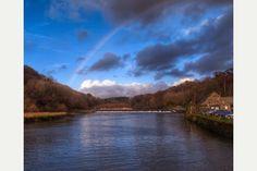 Rainbow Over Lopwell Dam
