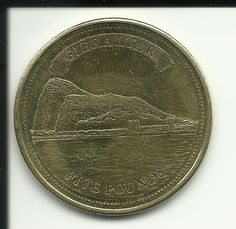 The Rock : Gibraltar's Five Pound Coin - Investors Europe Stock Brokers Gibraltar