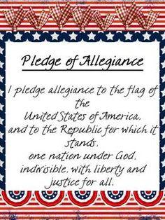 FREE Pledge Posters