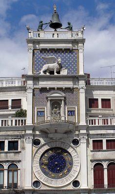 Torre dell'Orologio construida en el siglo XVI por Mauro Codussi (Piazza de San Marco de Venezia) - Portal Fuenterrebollo