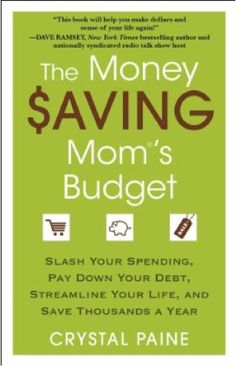 I REALLY enjoy saving money! Hopefully this book will help! The Money Saving Mom site is a great source of inspiration and helpful ideas so this book should be a wonderful help!!