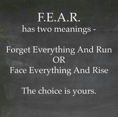 F.E.A.R. - the choice is yours!!!