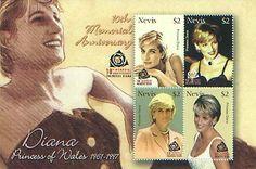Princess Diana stamps
