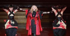 Madonna tells concert audience that ex-boyfriend cheated on her with personal trainer of five years #Entertainment_ #iNewsPhoto