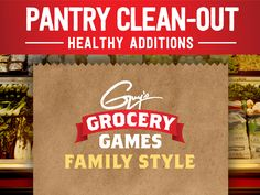 Pantry Clean-Out from Guy's Grocery Games: Healthy Additions : Food Network - FoodNetwork.com