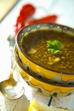 We're sorry, this recipe is no longer available. Green Lentil Soup, Green Lentils, Lentil Soup Recipes, Bean Recipes, Turkish Recipes, Ethnic Recipes, Soup And Sandwich, Soups And Stews, Good Food