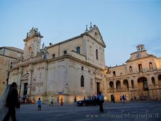 Duomo and Bishop Palace in the Duomo Square of Lecce (Italy). Visit the website for other pictures!