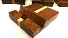 Mahogany and Maple iPod iPad iPhone Tablet by FentonCreekWoodWorks, $10.00