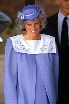 Princess Diana pregnant with Prince Harry in 1984.