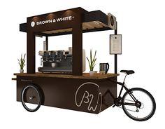 B&w cafe cart