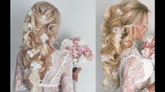 Beautiful Wedding Hair Transformations by Ulyana Aster The hairstyles at 3:15 and 5:15