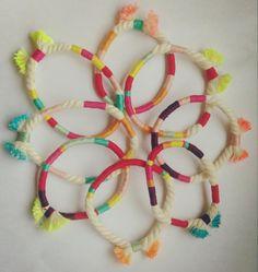 Pulseras de Algodón / Cotton Bracelet