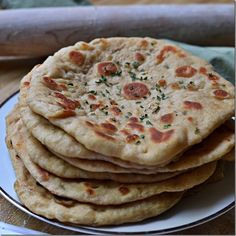 Three WW Point naan - perfect for any meal of the day - breakfast naan, chicken pizza - so many possibilities!