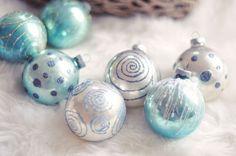 Blue Christmas Backgrounds | Las manualidades más originales para Navidad