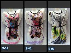 017 Mini Dress / Plus Size Blouse