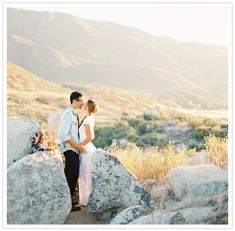 romantic rocky wedding portraits Engagement Couple, Engagement Shoots, Senior Portraits, Wedding Portraits, Folk, India, Wedding Photo Inspiration, Bridal Photography, Celebrity Weddings