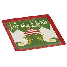 """For the Elves"" Plate"