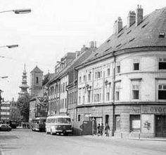 Bratislava, Old Photos, Nostalgia, Street View, Times, Geo, Facebook, Inspiration, Pictures
