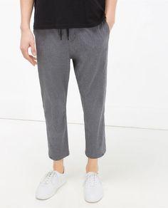 Imagen 2 de PANTALÓN CORDÓN de Zara Online Zara, Zara United Kingdom, Trousers, Sweatpants, Suits, Men, Collection, Fashion, Lanyards