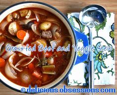 Hearty Grass-fed Beef and Vegetable Stew Recipe