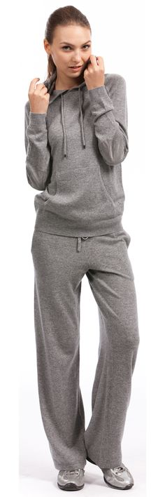 Explore cashmere lounge wear by Citizen Cashmere for women including cashmere hoodies.  #cashmere