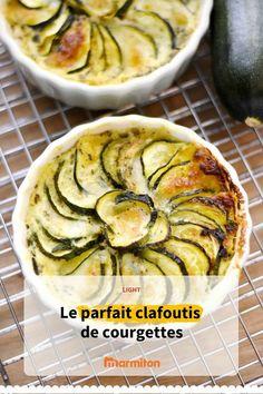 Clafoutis courgette, une recette exquise pour cuisiner votre légume favori  recettemarmiton marmiton