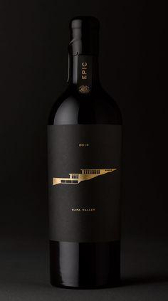 Wine Bottle Design, Wine Label Design, Wine Bottle Labels, Cabernet Sauvignon, Logo Label, Wine Brands, Wine Art, Bottle Packaging, Wine And Spirits