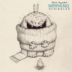 Bundle up!   #morningscribbles