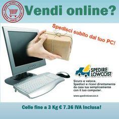 Vendi online? Spedisci subito dal tuo pc, con Corriere a domicilio. Spedizioni in tutta Italia ed Europa.