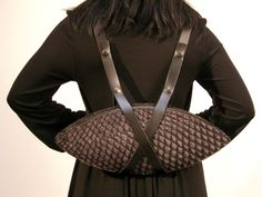 maria hees fish leather backpack