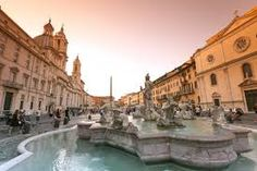 Piazza Navona,Roma: one of the most famous squares all over the world, is a meeting point for Romans, tourists and foreigners who are charmed by the somptuous shapes of Santa Maria in Agone, the elegance of Bernini's Fountain of the Four Rivers in the middle of the square and the atmosphere of an ancient Roman competition arena. http://www.romesweethome.com/Luxury-Navona-Penthouse.html