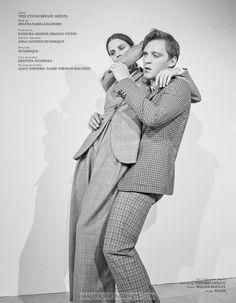 Lisa Tomaschewsky & Jonas Nay por Alessio Bolzoni para Interview Alemania