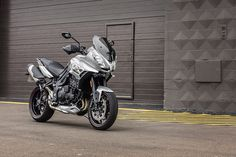 More high quality sports adventure detailing & finishes including; new footpegs with improved grip, redesigned mirrors, belly pan and heat shield.  New badges and eye catching contemporary graphics.